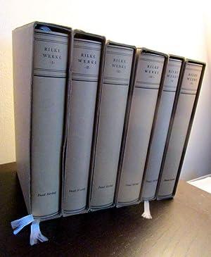 Sämtliche Werke. Band I bis VI. (6: Rilke, Rainer Maria.