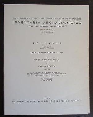 Inventaria Archaeologica. Corpus des Ensembles Achéologiques sous: Petrescu-Dimbovita, Mircea et