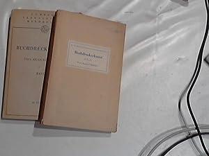 Lehrbuch der Buchdruckerkunst. I. und II. Teil.: Müller, August: