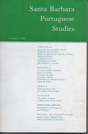 Santa Barbara Portuguese Studies Vol. I