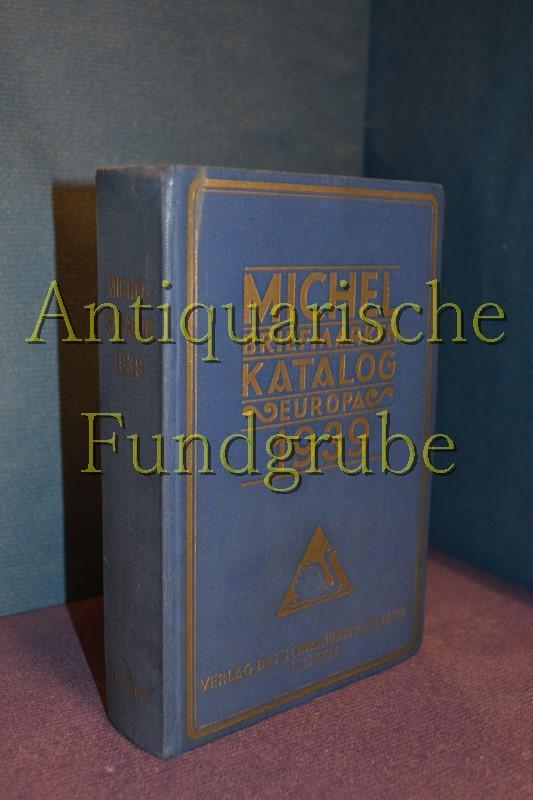 Michel Briefmarken Katalog (Briefmarkenkatalog) Europa 1939: Michel Briefmarken Katalog: