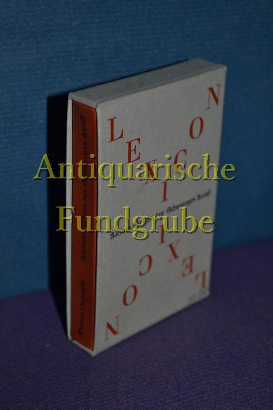 Kleines Lexicon der Schwartzen Kunst. Spracheigentümlichkeiten und: Miniaturbuch - Nadolski,
