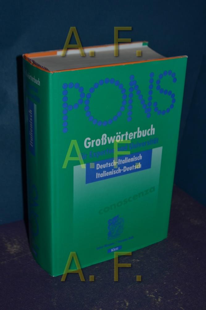 Wörterbuch Deutsch Italienisch Italienisch Deutsch Von Giacoma Zvab