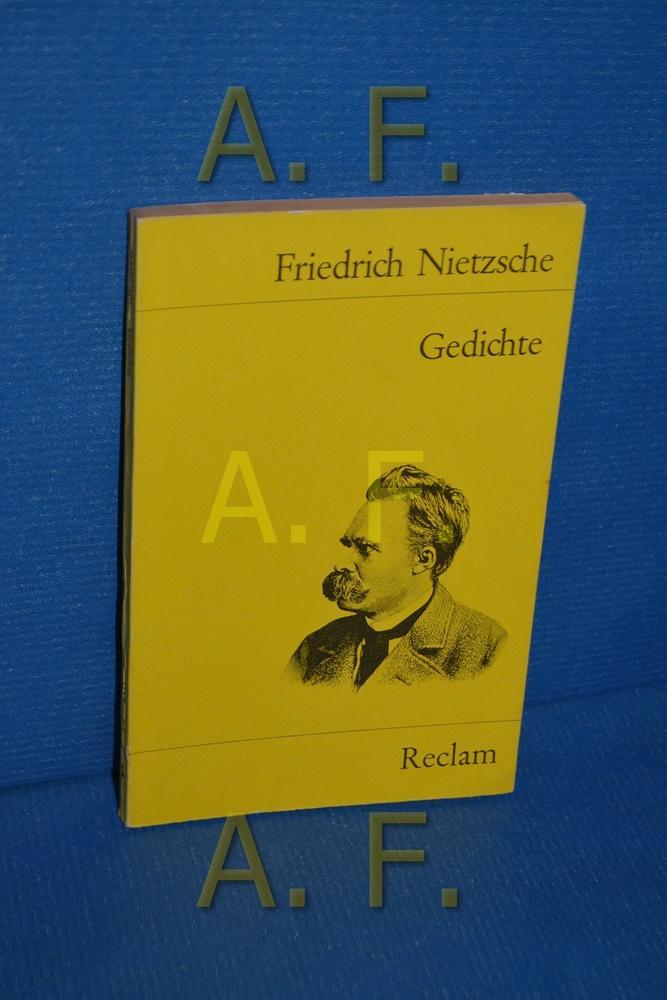 Gedichte (Universal-Bibliothek , Nr. 7117[2]) Mit e.: Nietzsche, Friedrich: