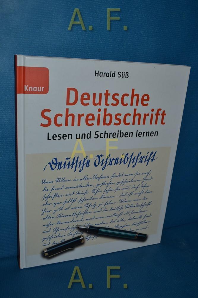 Deutsche Schreibschrift Lesen Und Schreiben Lernen Lehrbuch Von