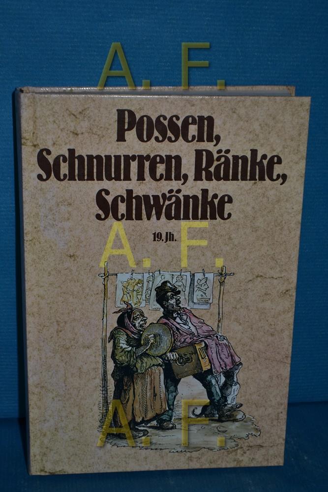 Possen, Schnurren, Ränke, Schwänke, Band 3: 19.: Ritter, Gustav A.: