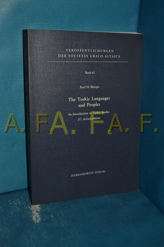 The Turkic languages and peoples : an: Menges, Karl Heinrich: