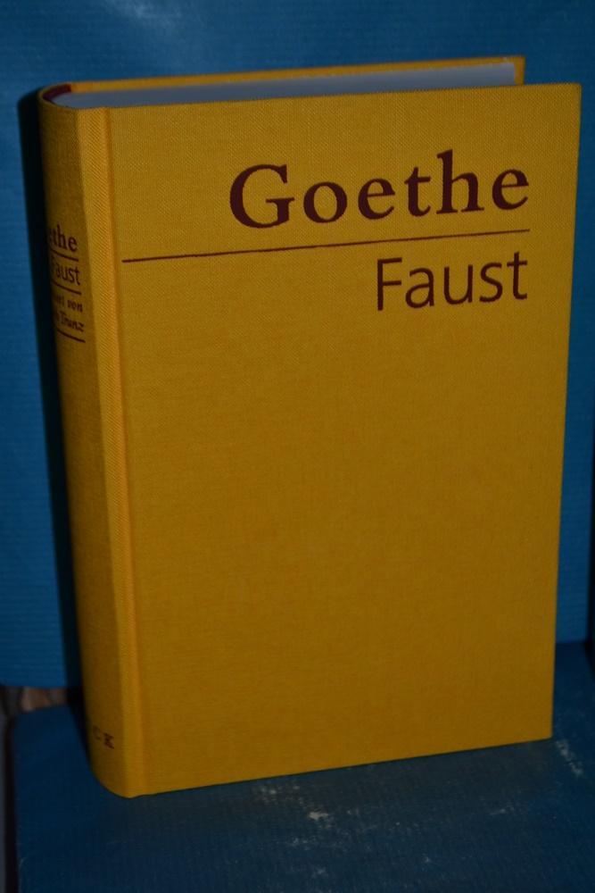 Faust : der Tragödie erster und zweiter Teil, Urfaust Goethe. Hrsg. und kommentiert von Erich Trunz - Goethe, Johann Wolfgang von und Erich Trunz