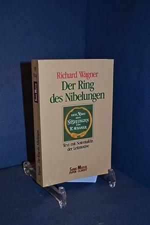 Der Ring des Nibelungen : vollständiger Text: Wagner, Richard und