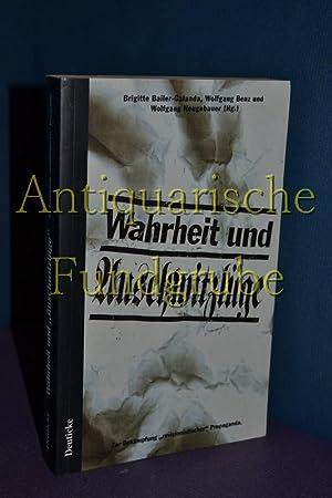 """Wahrheit und """"Auschwitzlüge"""" : zur Bekämpfung """"revisionistischer"""" ..."""
