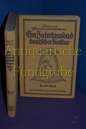 Ein Jahrtausend deutscher Kultur, Quellen von 800 - 1800 Band I: Die äußeren Formen ...