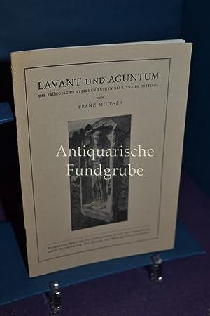 Lavant und Aguntum : die frühgeschichtlichen Ruinen: Miltner, Franz: