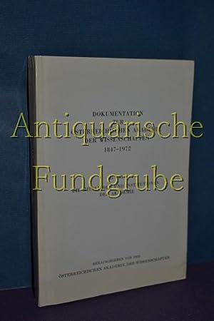 Österreichische Akademie der Wissenschaften: Dokumentation zur Österreichischen Akademie ...