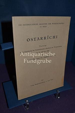 Ostarrîchi : Die Österreichische Akademie der Wissenschaften: Lhotsky, Alphons: