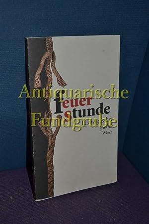 Feuerstunde : Gedichte.: Laher, Ludwig: