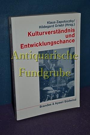Kulturverständnis und Entwicklungschance : [das Buch enthält die Referate zur Vierten ...