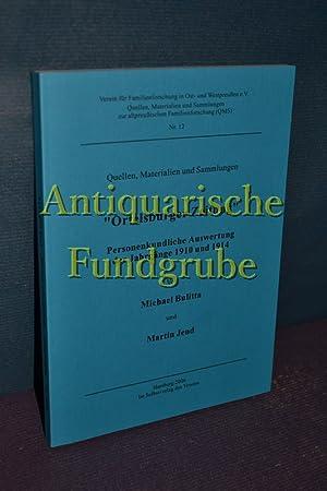 Verein für Familienforschung in Ost- und Westpreußen e.V. / Quellen, Materialien ...