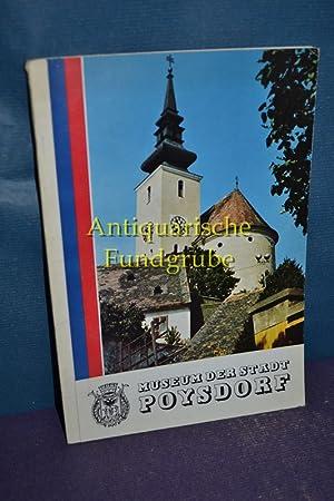 Führer durch das Museum der Stadt Poysdorf