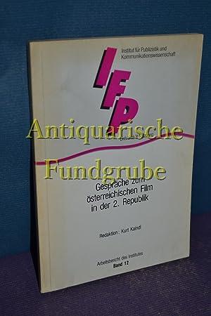 Gespräche zum österreichischen Film : 1976/1985 1985: Kaindl, Kurt [Red.]: