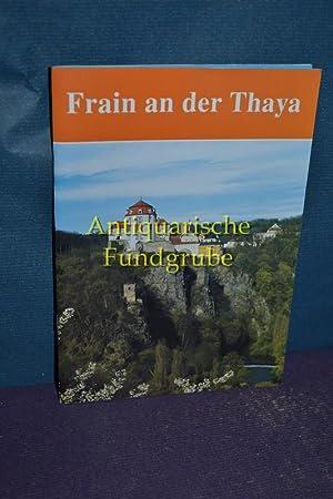 Frain an der Thaya.: Janícek, Karel und Hana Adamová: