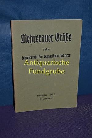 Mehrerauer Brücke zugleich Jahresbericht des Gymnasiums Mehrerau: Roder, Adalbert:
