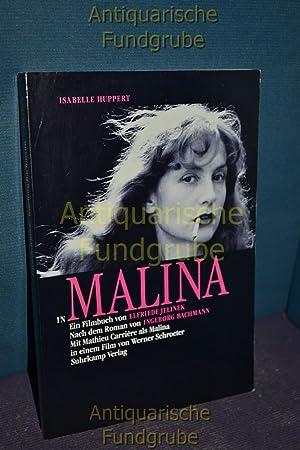 Isabelle Huppert in Malina : ein Filmbuch: Jelinek, Elfriede und