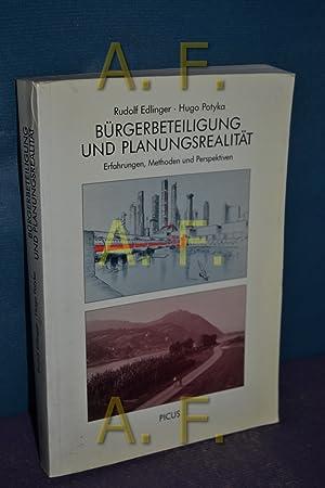 Bürgerbeteiligung und Planungsrealität : Erfahrungen, Methoden u. Perspektiven. , Hugo ...