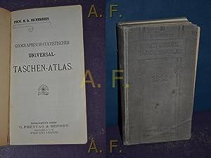 Geographisch-statistischer Universal-Taschen-Atlas.: Hickmanns, A. L.: