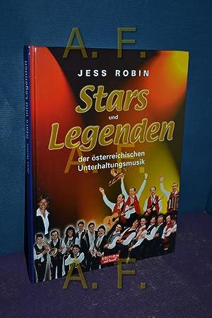 Stars und Legenden der österreichischen Unterhaltungsmusik.: Robin, Jess: