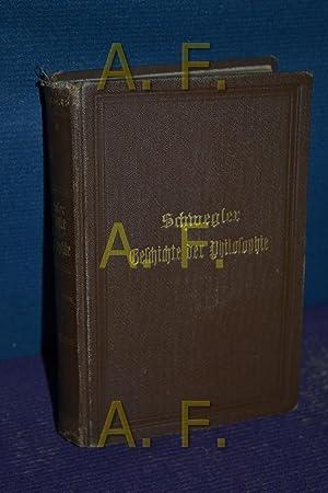 Geschichte der Philosophie im Umriß. Erg. v.: Schwegler, Albert, Jacob