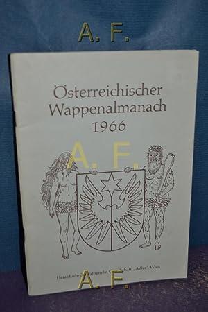 Österreichischer Wappenalmanach 1966 : Österreichischer Gemeindewappen II.: Baumert, Herbert Erich