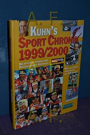 Kuhn's Sport Chronik 1999/2000. Das österreichische Sportjahrbuch mit allen Sporth&...