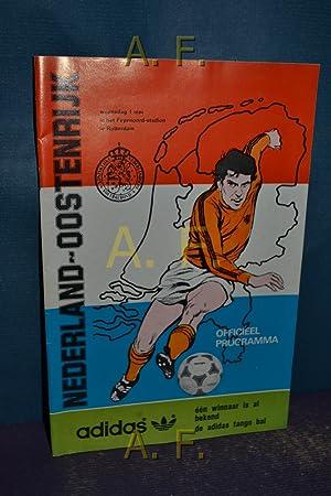 Nederland-Oostenrijk, Woensdag 1 Mei in het Feyenoord-stadion