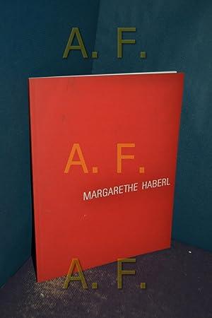 Margarethe Haberl (Katalog) + signierter karte, signiert: Haberl, Margarethe [Künstler]: