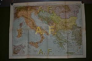 Neubertova Mapa C. 51, Italie a Balkánské