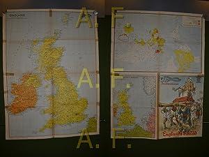 England / Kriegsschauplatz Nordsee / Weltkarte 1