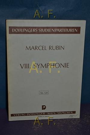 Marcel Rubin VIII. Symphonie : Doblingers Studienpartituren.