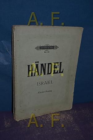 Israel in Egypten, Oratorium in 2 Teilen,: Händel, Georg Friedrich:
