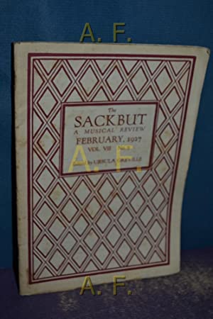 The Sackbut a musical Review, February, 1927,: Greville, Ursula:
