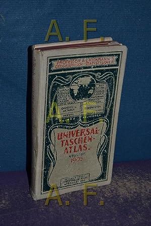 Geographisch-Statistischer universal- Taschen-Atlas: Hickmanns, A. L.