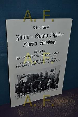 Zittau - Kurort Oybin, Kurort Jonsdorf, Geschichte: Preuß, Reiner: