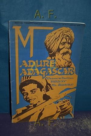 Madure Madagascar, Revue Trimestrielle No. 8, Janier