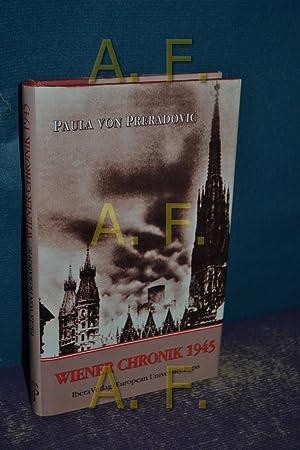 Paula Preradovic Wiener Chronik 1945 Abebooks