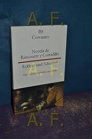 Novela de Rinconete y Cortadillo : famosos: Cervantes Saavedra, Miguel