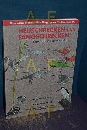 Heuschrecken und Fangschrecken : (Insecta: Saltatoria, Mantodea): Berg, Hans-Martin und