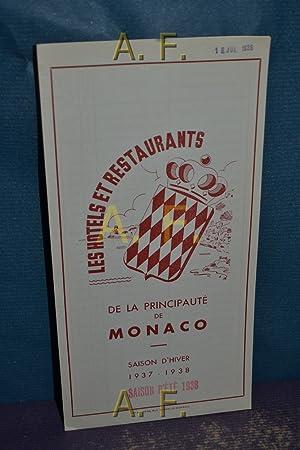 De la Principauté de Monaco, Les Hotels