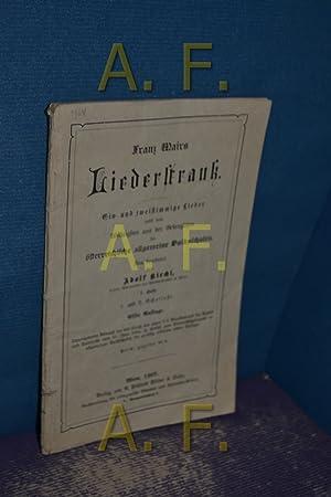 Franz Mairs Liederstrauß, ein- und zweistimmige Lieder: Kirchl, Adolf: