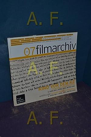 Filmarchiv Austria / Filmarchiv Nr 07, 03/2003: Film Archiv Austria,
