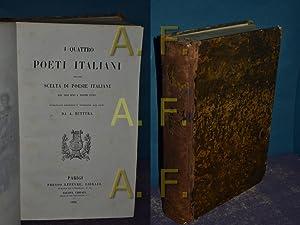 I Quattro Poeti Italiani Con Una Scelta: Buttura, A.: