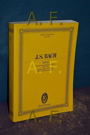 Missa / B minor/h-Moll/Si mineur für 5: Bach, Johann Sebastian